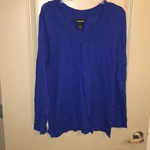 Tops - Cobalt blue top from lane Bryant